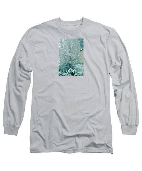 Long Sleeve T-Shirt featuring the photograph Dreaming Of A White Christmas - Winter In Switzerland by Susanne Van Hulst