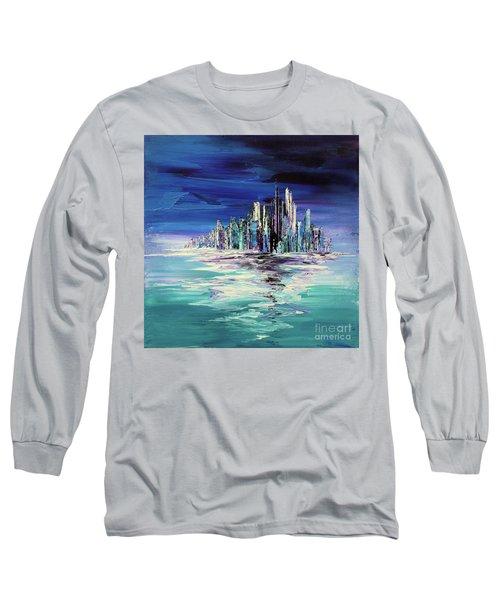 Dreamland Isle Long Sleeve T-Shirt by Tatiana Iliina