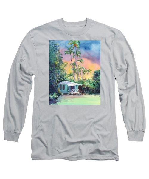 Dreams Of Kauai Long Sleeve T-Shirt by Marionette Taboniar
