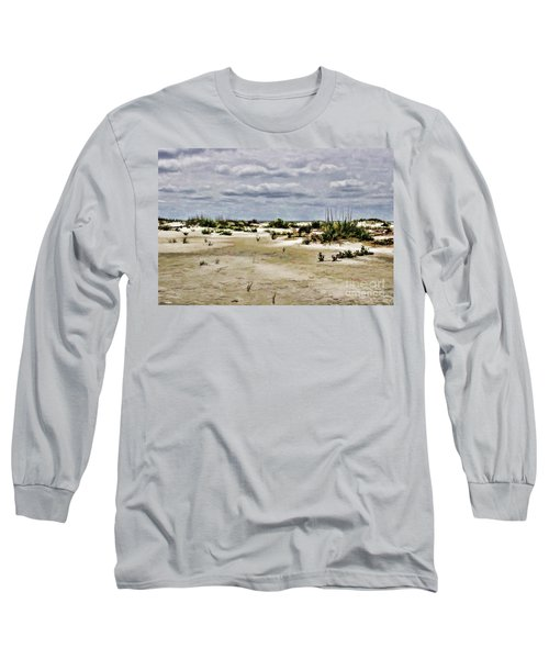 Dreamy Dunes Long Sleeve T-Shirt by Roberta Byram