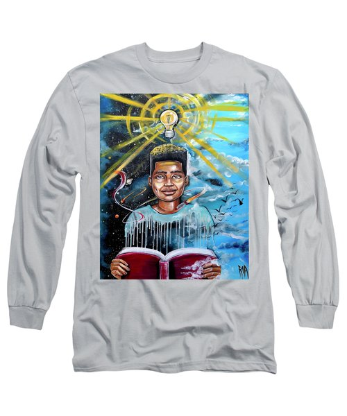 Drenched In Knowledge Long Sleeve T-Shirt