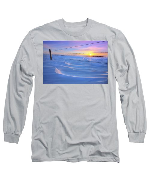 Long Sleeve T-Shirt featuring the photograph Drifting Away by Dan Jurak