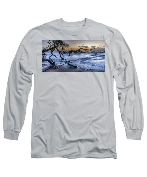 Driftwood Beach 3 Long Sleeve T-Shirt