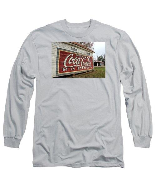 Drink Coca-cola Long Sleeve T-Shirt by Lynn Jordan