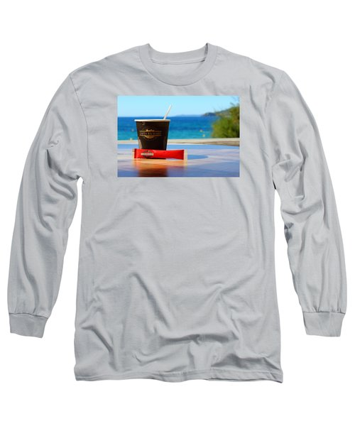 Long Sleeve T-Shirt featuring the photograph Drink It In by Richard Patmore