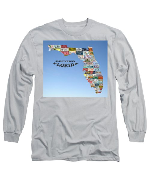 Driving Florida Long Sleeve T-Shirt
