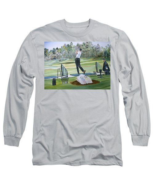 Driving Pine Hills Long Sleeve T-Shirt by P Anthony Visco