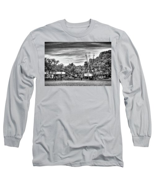 Dry Dock - St. Helena Shrimp Boat Long Sleeve T-Shirt