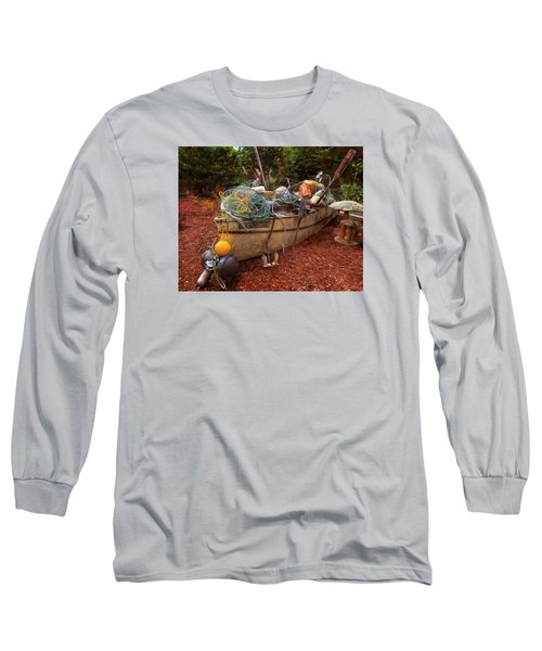 Long Sleeve T-Shirt featuring the photograph Dry Dock Art by Thom Zehrfeld