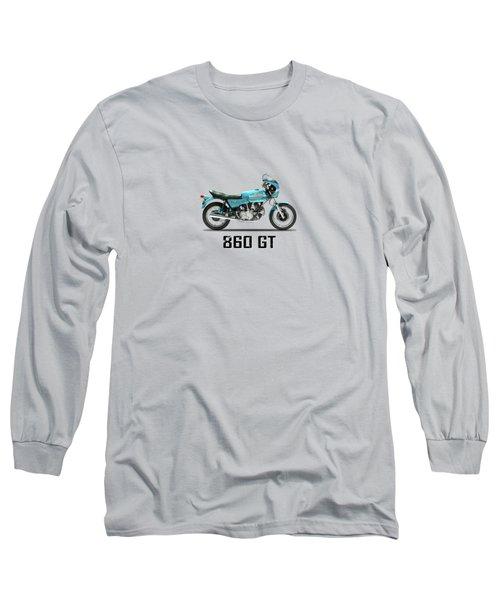 Ducati 860 Gt 1975 Long Sleeve T-Shirt by Mark Rogan