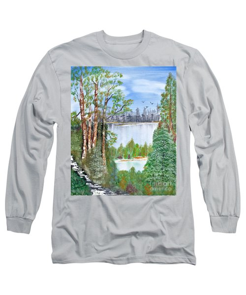 Dueling Lakes Long Sleeve T-Shirt