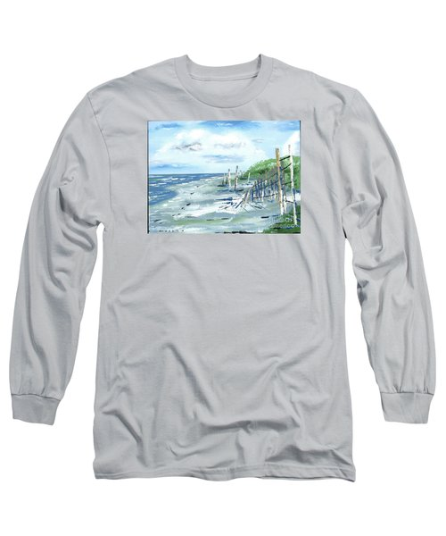 Dune Fences Isle Of Palms Long Sleeve T-Shirt