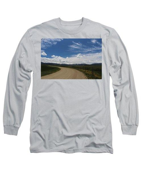Dusty  Road Long Sleeve T-Shirt