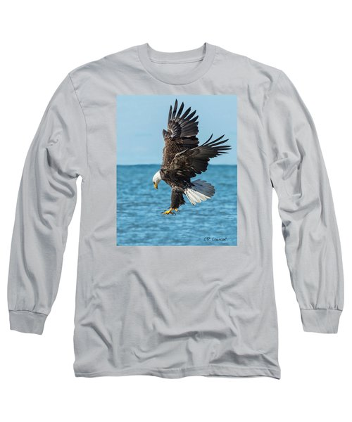 Eagle Dive Long Sleeve T-Shirt by CR  Courson