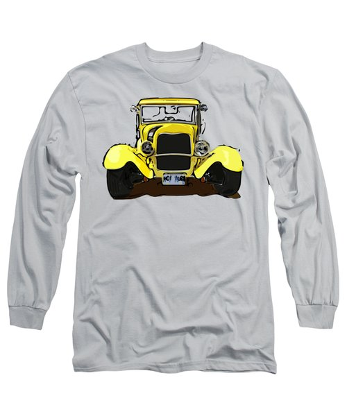 Early 1930s Ford Yellow Long Sleeve T-Shirt