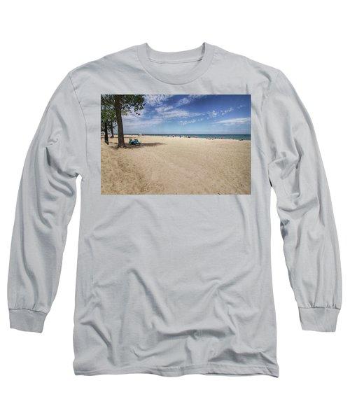 Early Morning Beach Long Sleeve T-Shirt