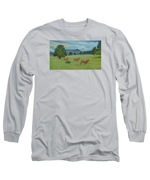 Early Spring Evergreen Long Sleeve T-Shirt