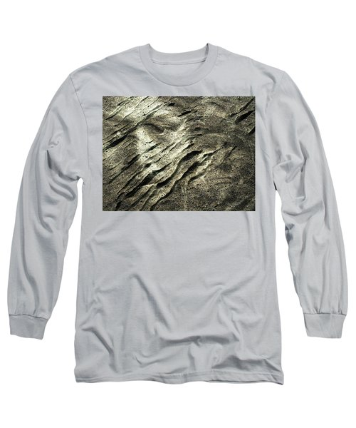 Long Sleeve T-Shirt featuring the photograph Earth Memories - Sleeping River # 4 by Ed Hall