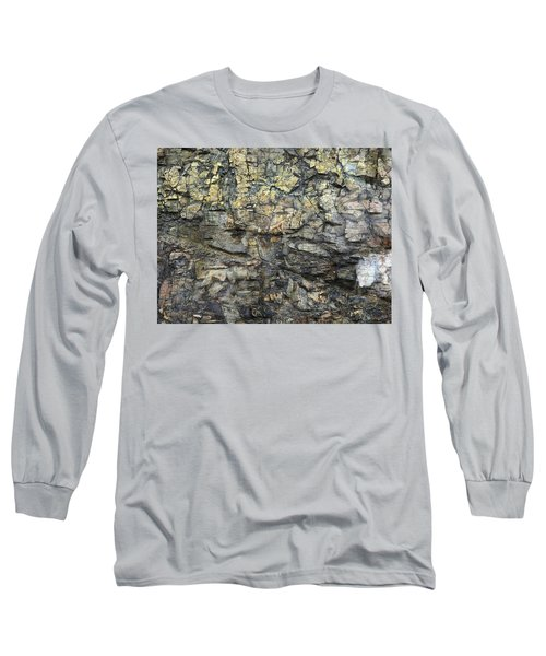 Long Sleeve T-Shirt featuring the photograph Earth Memories - Stone # 6 by Ed Hall