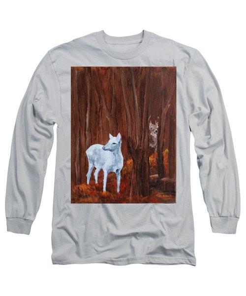 East Aurora Albino Deer,  Long Sleeve T-Shirt
