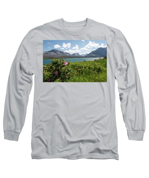 East Glacier National Park Long Sleeve T-Shirt