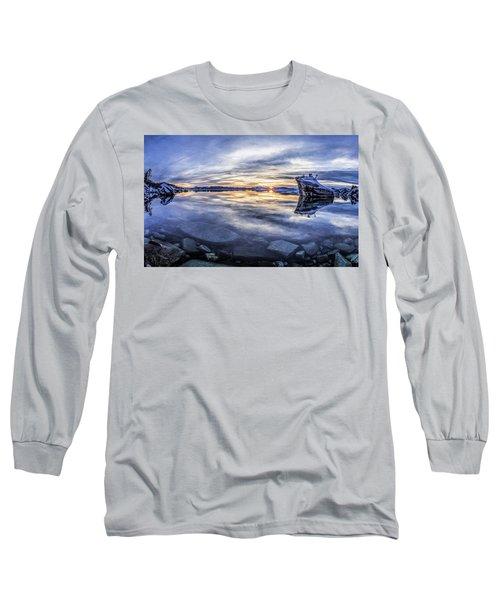 East Shore Sunset Long Sleeve T-Shirt
