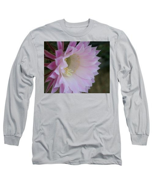 Easter Lily Cactus East Long Sleeve T-Shirt