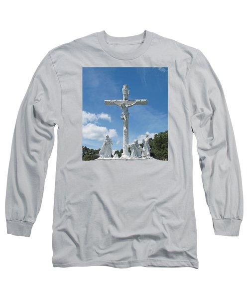 Easter One Long Sleeve T-Shirt by Barbara McDevitt