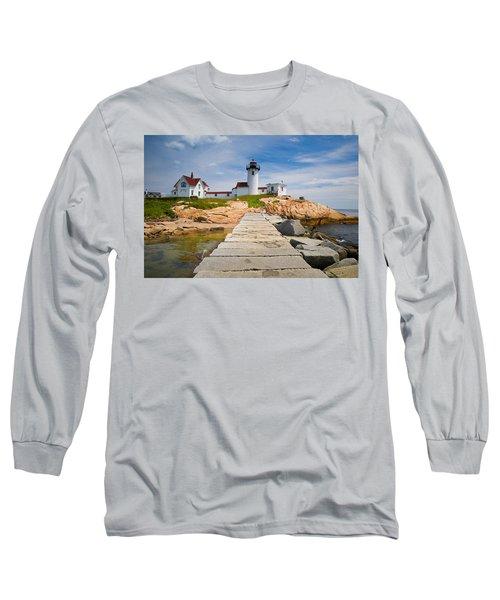 Eastern Point Lighthouse Long Sleeve T-Shirt