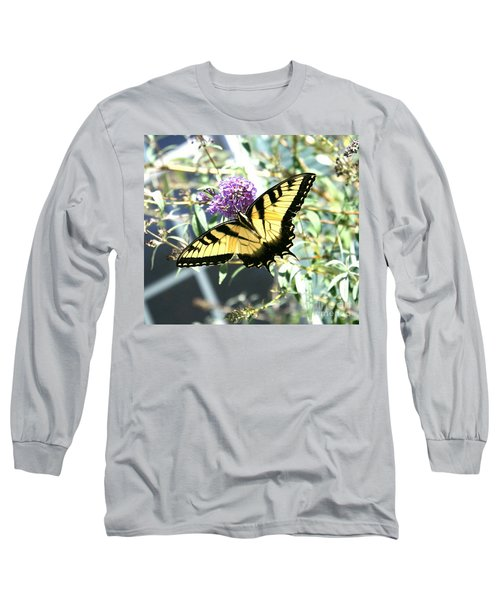 Eastern Tiger Swallowtail Butterfly Long Sleeve T-Shirt