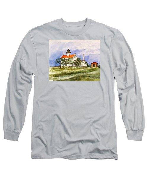 East Point Lighthouse Glory Days  Long Sleeve T-Shirt