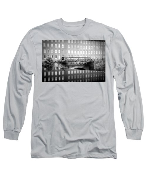 Echoes Of Mills Past Long Sleeve T-Shirt by Greg Fortier