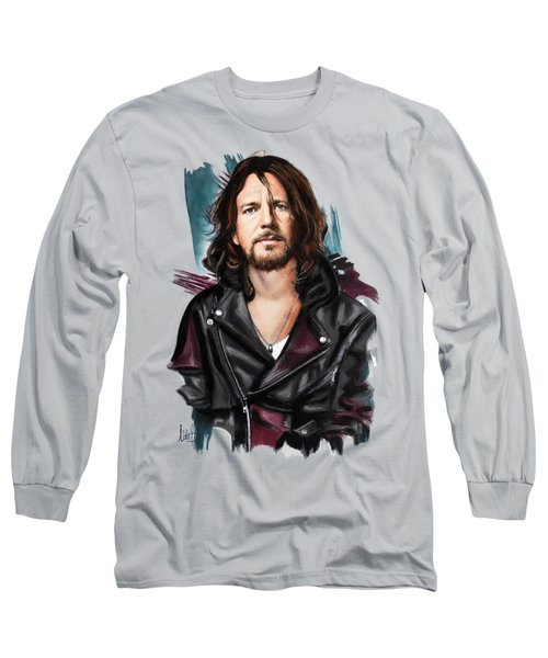 Eddie Vedder Long Sleeve T-Shirt