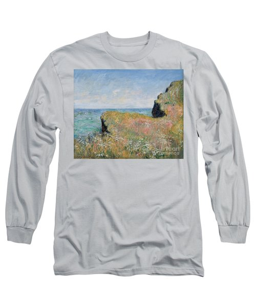 Edge Of The Cliff Pourville Long Sleeve T-Shirt