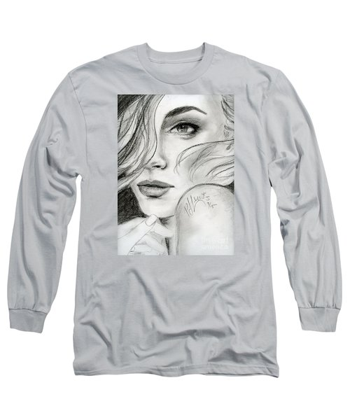 Edna Long Sleeve T-Shirt by P J Lewis