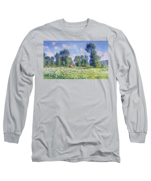 Effect Of Spring At Giverny Long Sleeve T-Shirt
