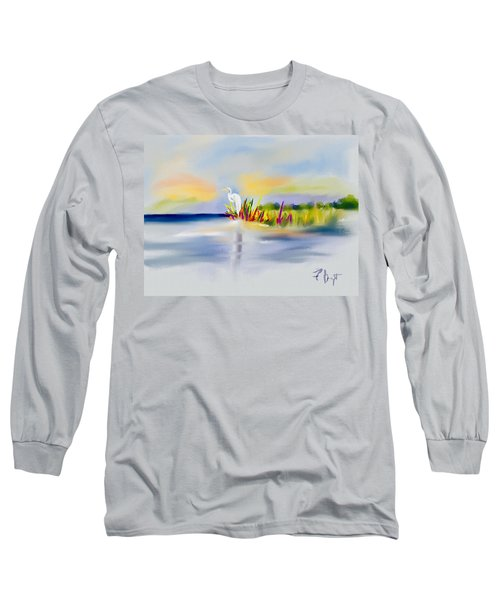 Egret Bliss Long Sleeve T-Shirt