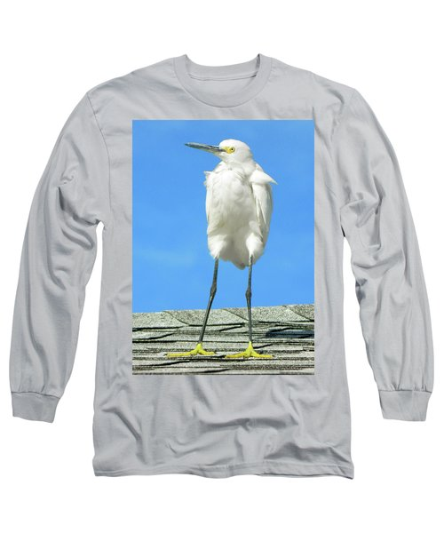 Egret Focused And Poised Long Sleeve T-Shirt