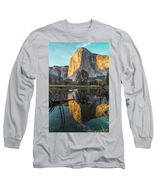 El Capitan Sunset Long Sleeve T-Shirt