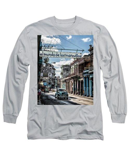 El Mundo De Las Maravillas Long Sleeve T-Shirt