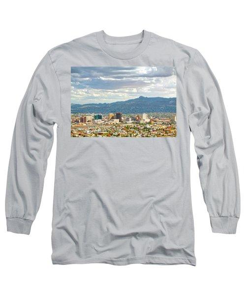 El Paso Texas Downtown View Long Sleeve T-Shirt