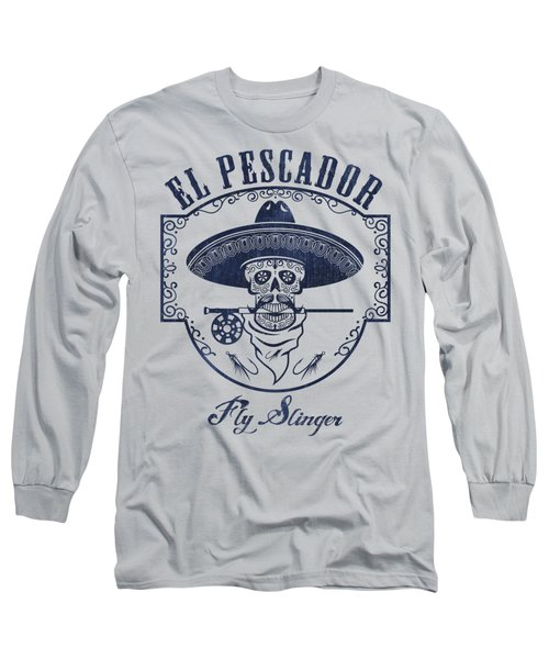 El Pescador Long Sleeve T-Shirt by Kevin Putman