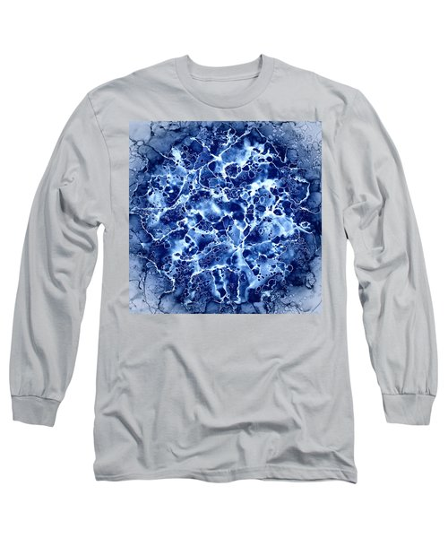 Abstract 1 Long Sleeve T-Shirt by Patricia Lintner