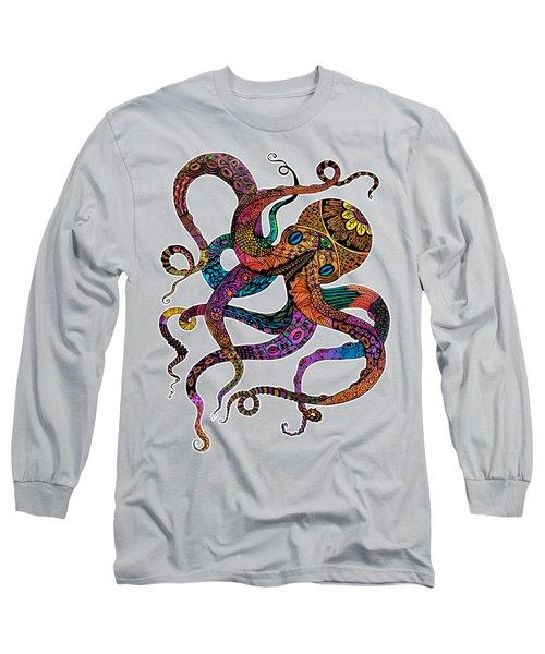 Electric Octopus Long Sleeve T-Shirt
