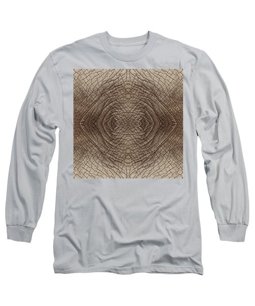 Elephant Skin Long Sleeve T-Shirt by Anton Kalinichev