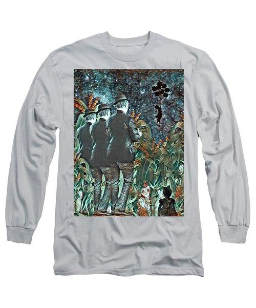 Elite Hide And Seek Long Sleeve T-Shirt by Vennie Kocsis