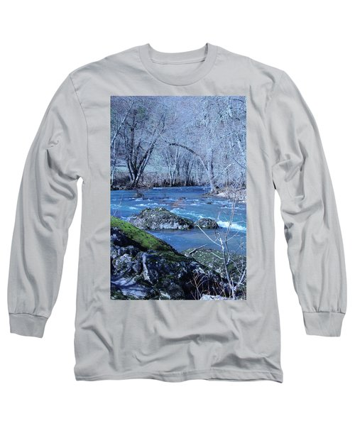 Long Sleeve T-Shirt featuring the photograph Elk Creek Wonderland by Marie Neder