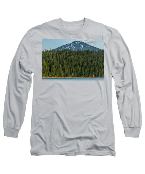 Elk Lake Sailing  Long Sleeve T-Shirt
