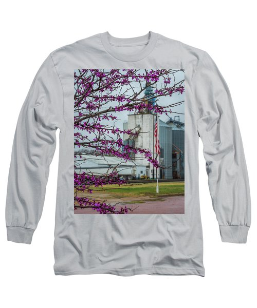 Ellsworth Blooms Long Sleeve T-Shirt by Darren White