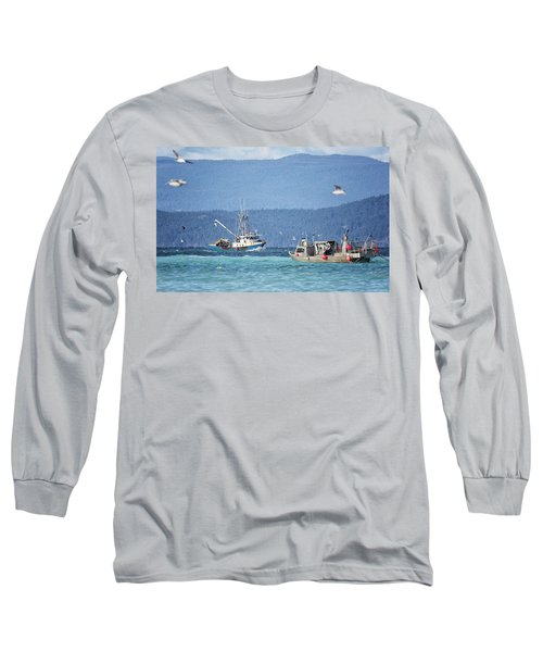 Long Sleeve T-Shirt featuring the photograph Elora Jane by Randy Hall
